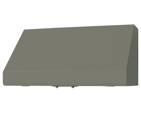 "36"" Prizer Incline Hood in Stone Grey (RAL 7030) - Stone Grey (RAL 7030)"