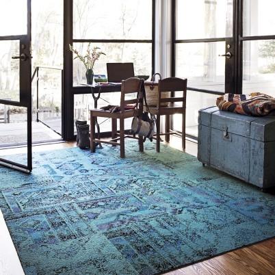 Remembrance Carpet Tile, Teal carpet-tiles