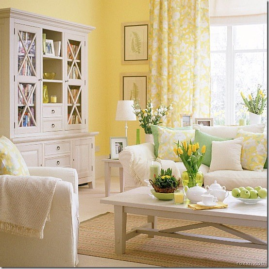 Yellow Room traditional