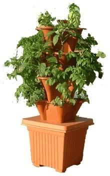 Ezgro Elite Hydroponic Indoor / Outdoor Container Garden - Traditional - Outdoor Pots And ...