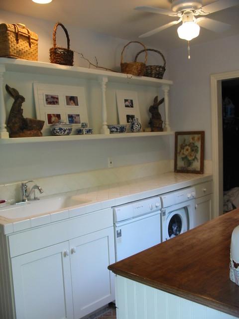 Laundry/Craft  Room Addition, Tarzana, CA beach-style-laundry-room