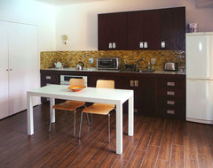 A single wall kitchen may be the single best choice for Small straight line kitchen designs