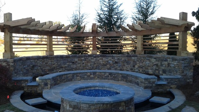 Half Round Pergola By Glen Craftsman Atlanta By All