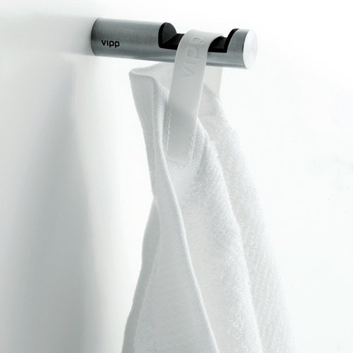 vipp 1 bathroom hook modern towel bars and hooks by allmodern