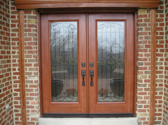 Provia Signet Cherry Front French Door