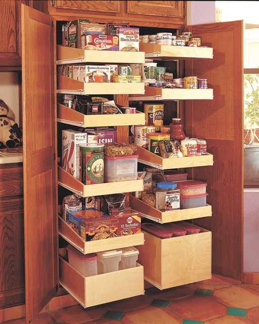 Roll out shelving - Contemporary - Kitchen Drawer Organizers - other metro - by The Best Home Guys