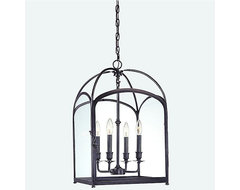 Oxford Pendant in Old Bronze traditional pendant lighting