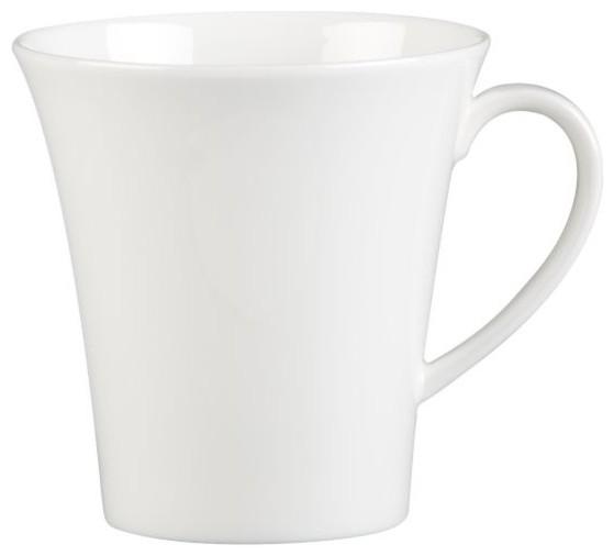 White Pearl Mug modern-serving-utensils
