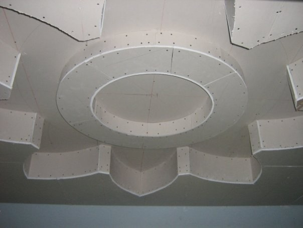 custom gypsum ceiling design