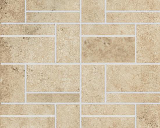 Limestone Collection Honey Design 2 Mosaics -
