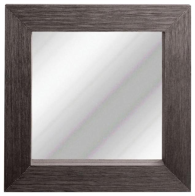 Zen Square Mirror contemporary-mirrors