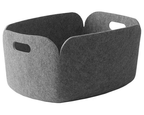 Restore Storage Basket, Gray -