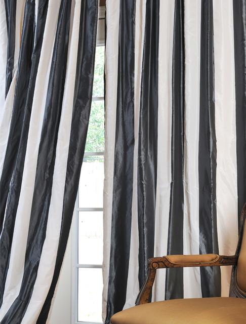 Curtains Ideas brown white striped curtains : Stripes Curtains - Curtains Design Gallery