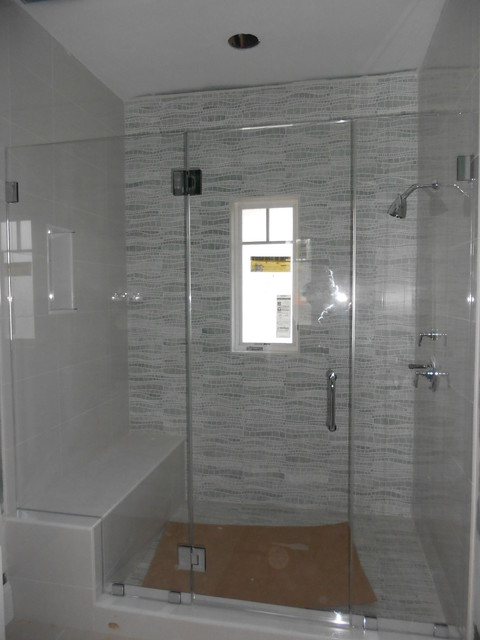Frameless Glass Shower Enclosure - Contemporary - Shower Stalls And Kits - new york - by ATM ...