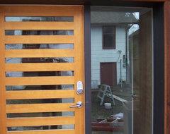 Solid VG Fir Doors modern-front-doors