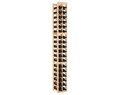 2 Column Standard Wine Cellar Kit in Pine, (Unstained) contemporary-wine-racks