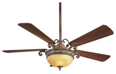 Minka Aire F707-FLP Salon Grand 56 in. Indoor Ceiling Fan - Florence Patina modern-ceiling-fans