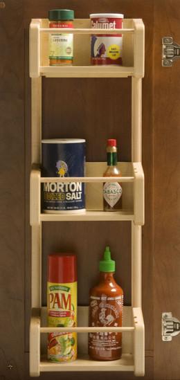 Cabinet Door Pantry Tray Rack