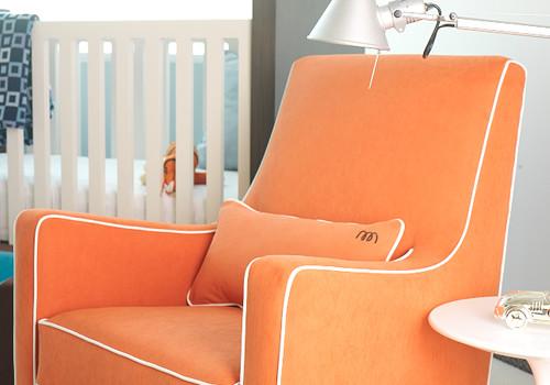 Modern luca glider chair modern gliders by monte design