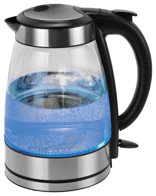 Kalorik clear glass water kettle contemporary kettles