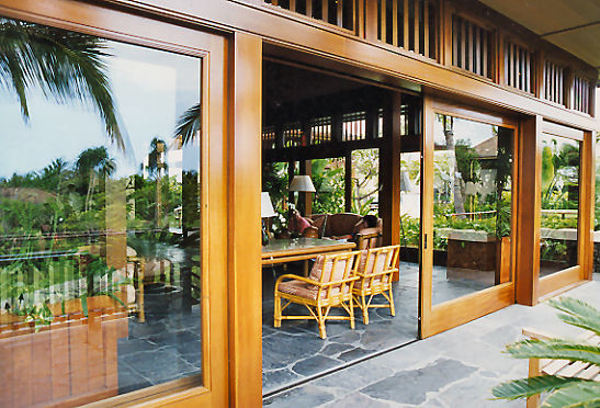Quantum Windows & Doors | Hill|Glazier Architects tropical-windows-and-doors