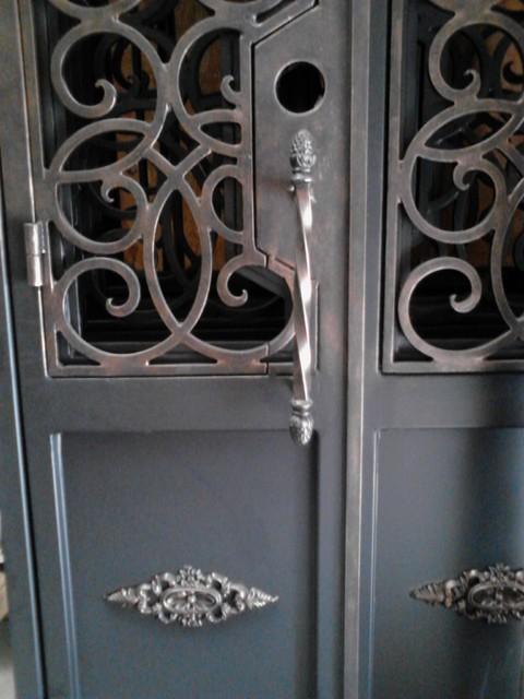 Iron Doors mediterranean