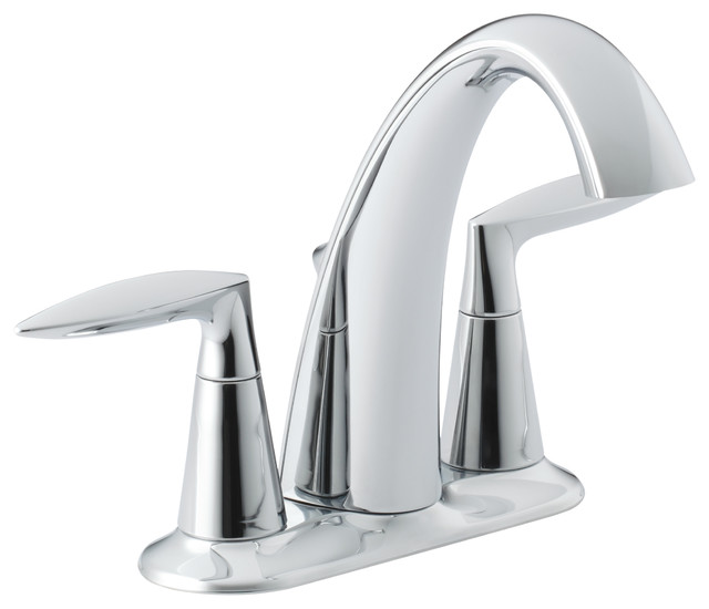 KOHLER K 45100 4 CP Alteo Centerset Bathroom Sink Faucet Contemporary Bat