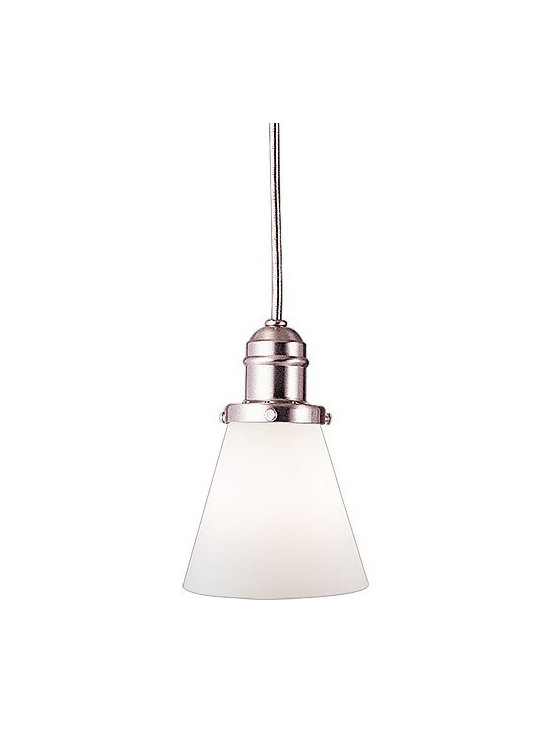 Hudson Valley Lighting - Hudson Valley Lighting   Vintage 11-Foot Cord Pendant - Made in the USA by Hudson Valley, 2001.The Vintage 11-Foot Cord Pendant allows you to customize your own personal style. All choices begin with Hudson Valley's early-electric socket holders, which are cast to industrial standards and offered in two finishes. Each metal finish creates a distinct look, from weathered antique to attention-grabbing modern. When paired any of a number of well crafted glass options, the decorative possibilities are endless. Thumb screw shade attachment. Supplied with a 5.5-foot cord.