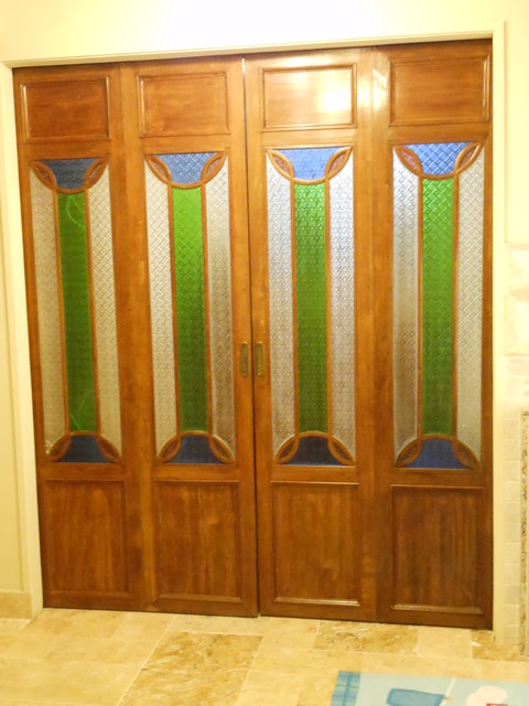 Green Antiques - Chinese Antique Doors - Projects asian-laundry-room