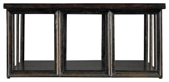 European Farmhouse Art Industriel Conversation Table traditional-coffee-tables