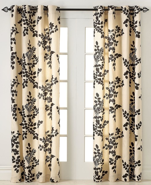 Miller Curtains Simsbury Collection Panel Chocolate Transitional Curtains By Macy 39 S