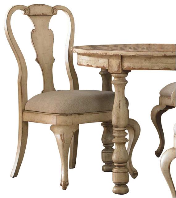 Hooker Furniture Wakefield White Splatback Dining Side