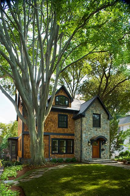 Klingle Street Award Winning Custom Home contemporary-exterior