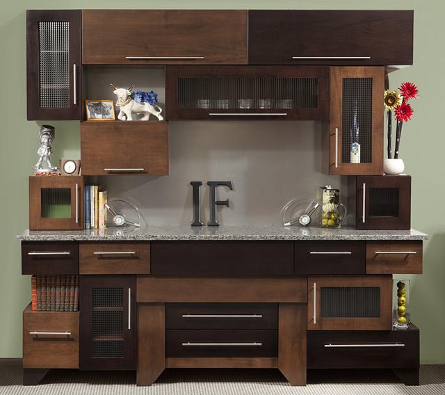 Cubist Kitchen modern-kitchen-cabinets