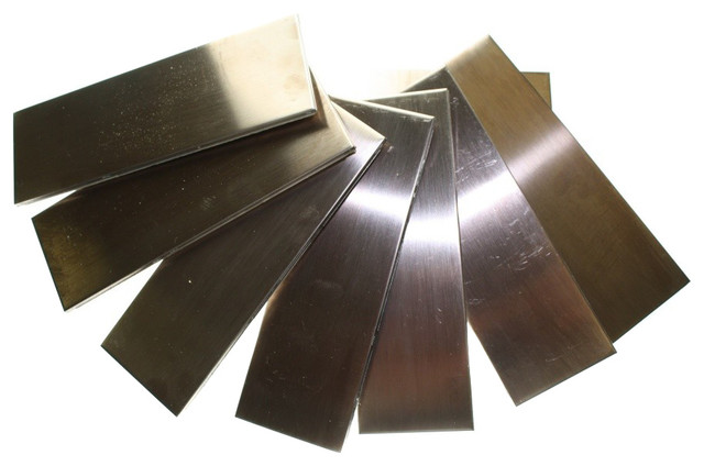 Metal Copper Stainless Steel Tiles contemporary-tile