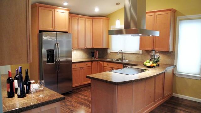Kitchen Design   Corinne Gail Interior Design traditional-kitchen