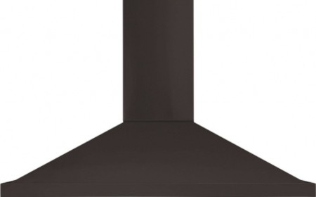 """AMCHD36BLK 36"""" Wall Mount Canopy Chimney Range Hood with 600 CFM Blower  Charcoa contemporary-range-hoods-and-vents"""