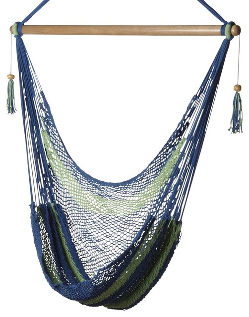 Bold Stripes Hammock Chair eclectic-hammocks-and-swing-chairs