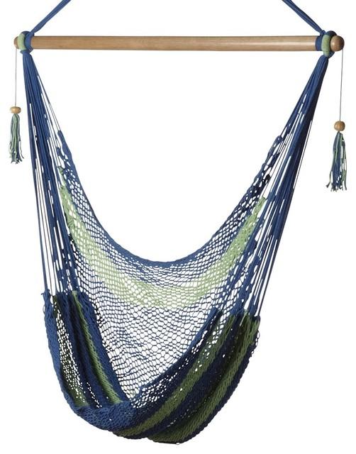 Bold Stripes Hammock Chair eclectic-hammocks