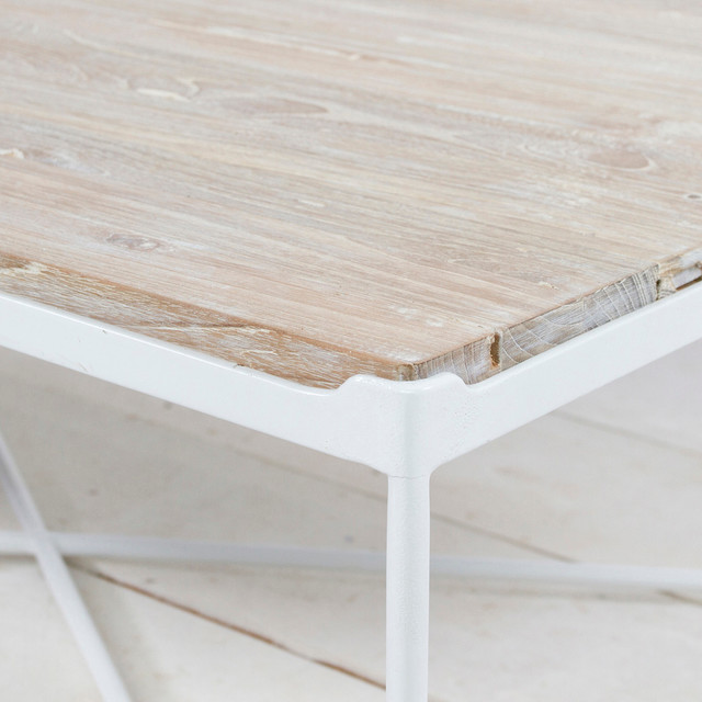 Lunar Coffee Table // White contemporary-coffee-tables
