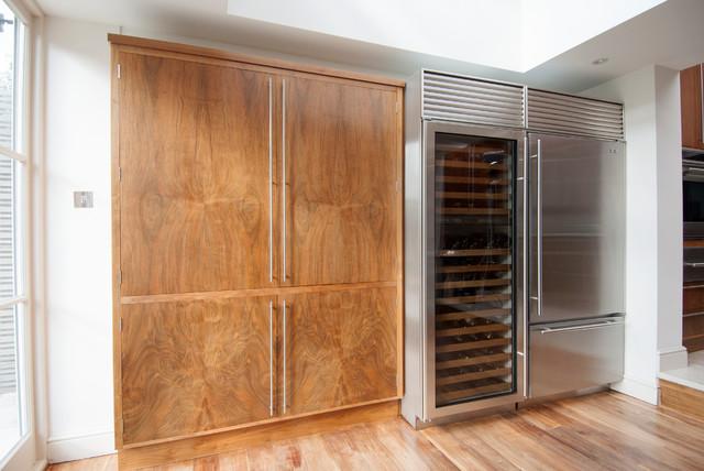 American Black Walnut Kitchen modern-kitchen