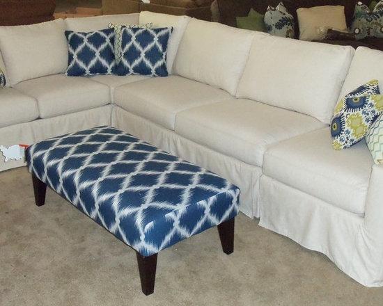 Customer Custom Orders - Rowe Monaco Slipcover Sofa