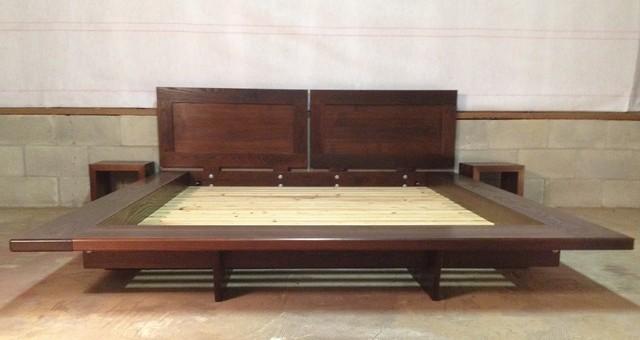 Floating Platform Bed Contemporary Platform Beds
