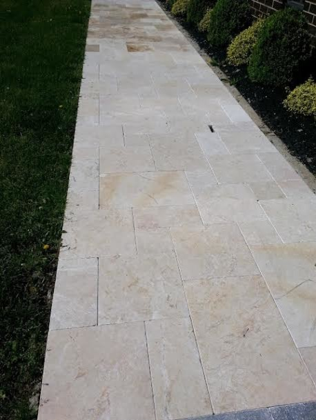 Travertine Marble Natural Stone Pavers Pools Driveways transitional-swimming-pools-and-spas