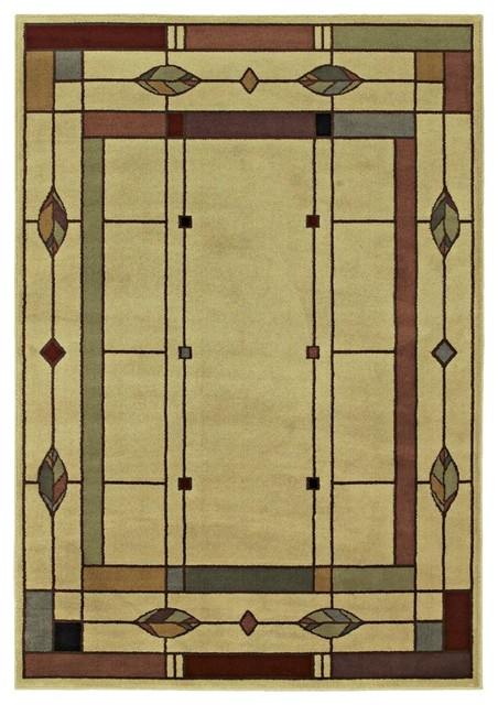 And Crafts Mission Timber Lake Area Rug Traditional rugs