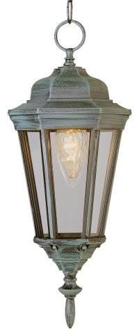 Bel Air Stony Brook Outdoor Hanging Lantern - 17.25H in. traditional-outdoor-lighting