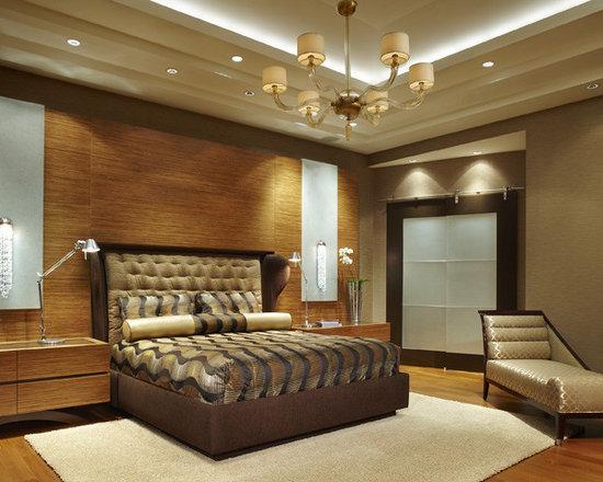уютный интерьер спальни.