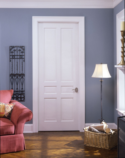 Colonial door traditional by trustile doors for Interior door styles for homes