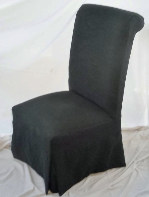 Parsons Chair Slipcover - Contemporary - Dining Chairs - other metro ...