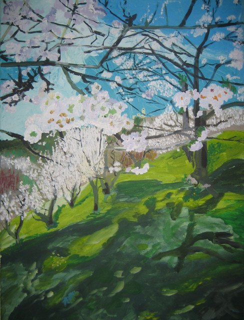 Cherry Orchard contemporary-artwork